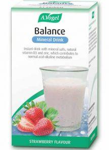 Vogel Balance Mineral Drink 7 sachets. Strawberry flavour Alkalising