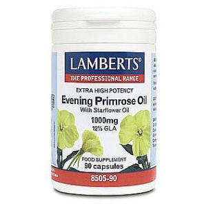 Extra High Potency Evening Primrose Oil 1000mg 90 Capsules Lamberts