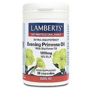 Extra High Potency Evening Primrose Oil 1000mg 90 Capsules Lamberts