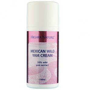 Mexican wild Yam Cream 100ml Higher Nature