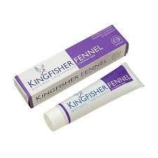 Kingfisher Fennel Toothpaste 100ml Fluoride Free