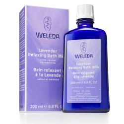 Lavender Relaxing Bath Milk 200ml Weleda