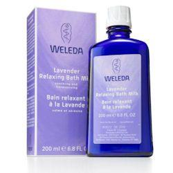 Lavender Relaxing Bath Milk 200ml Weleda