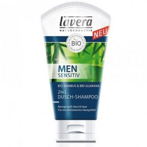 Lavera Men Sensitiv 2In1 Shower Shampoo 150ml