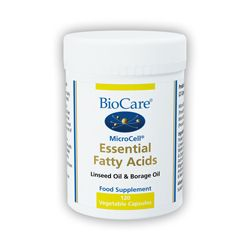 Microcell Essential Fatty Acids, 120 Veg Caps, Flax & Borage Oil