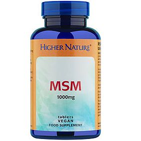 Msm Sulphur Tabs 180 Higher Nature