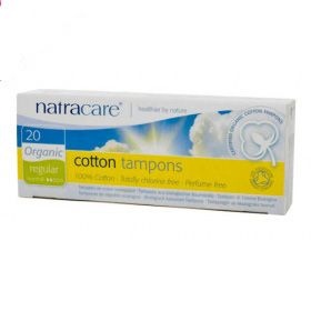 Natracare Cotton Tampon Regular 20