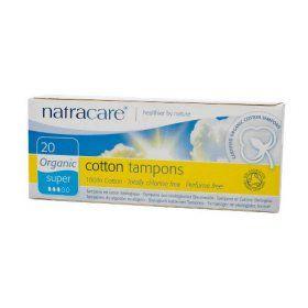Natracare Cotton Tampon Super 20