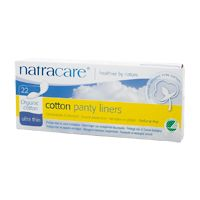 Natracare Organic Cotton Panty Liners Ultra Thin 22