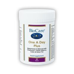 One A Day Plus Multivitamins & Minerals (With Vitaflavan & Coqu10) 60 Tablets Biocare