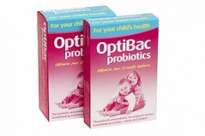 OptiBac probiotics for your childs health 30 sachets