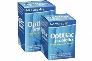 OptiBac probiotics for every day 30 capsules (now 1 a day)