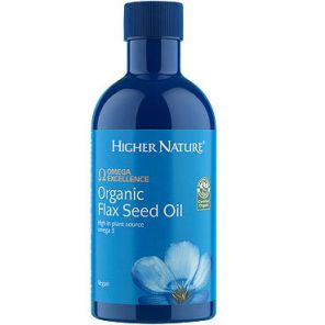 Omega Excellence Flaxseed Oil 350ml Higher Nature