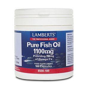 Pure Fish Oil 1100mg 180 Capsules Lamberts