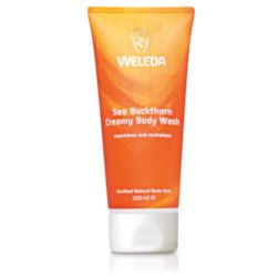 Sea Buckthorn Creamy Body Wash 200ml Weleda