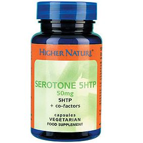 Serotone 5Htp 50mg 90 Higher Nature