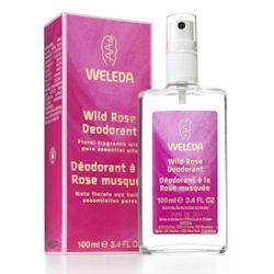 Wild Rose Deodorant 100ml Weleda