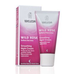 Wild Rose Smoothing Night Cream 30ml Weleda